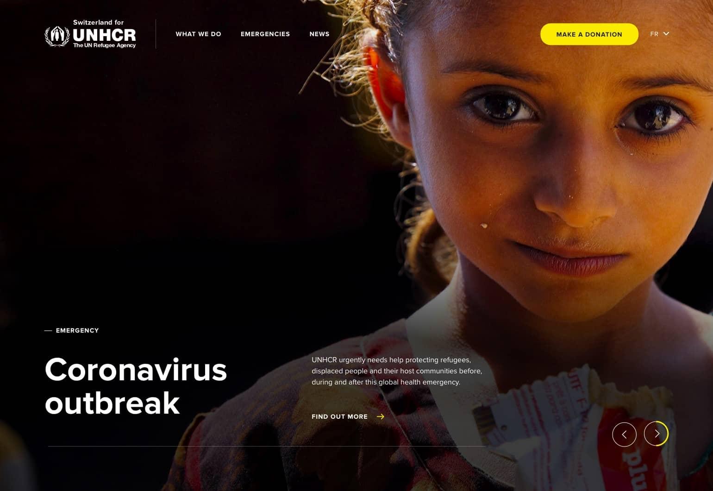 UNHCR - Hero